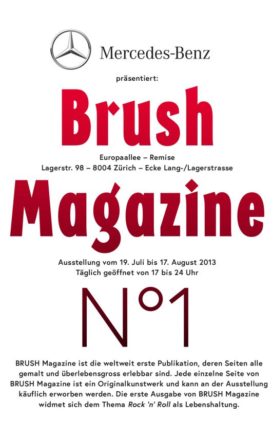 Brush Magazine Flyer